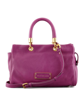 Too Hot To Handle Small Flap-Top Bag, Magenta