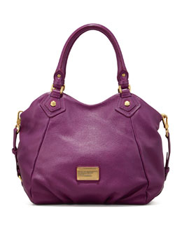 MARC by Marc Jacobs Classic Q Fran Satchel Bag, Purple