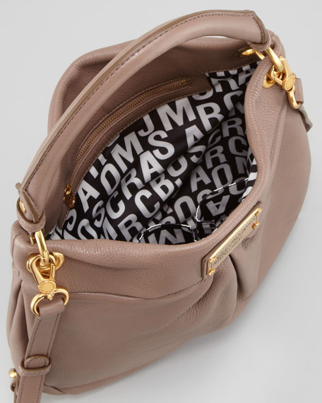 Classic Q Hillier Hobo Bag, Brown