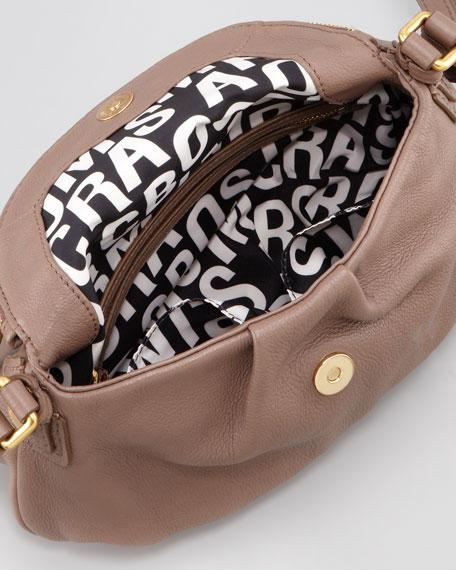 Classic Q Natasha Mini Crossbody Bag, Brown