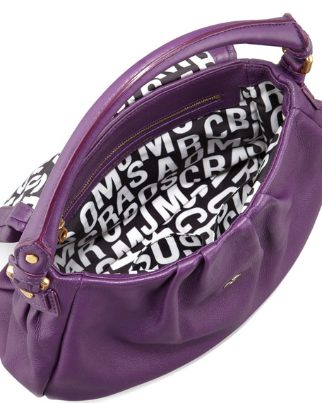 MARC by Marc Jacobs Classic Q Lil Ukita Satchel Bag, Purple e76da65b68