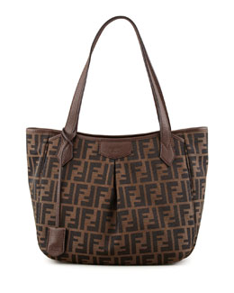Fendi Zucca Piccola Tote Bag, Brown