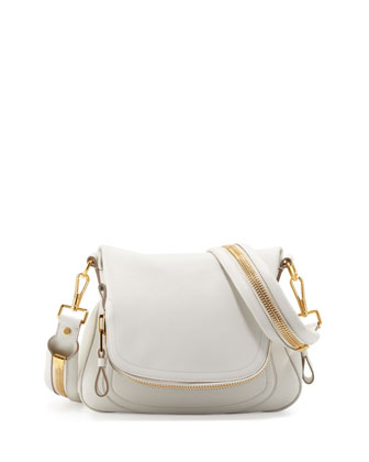 White Leather Crossbody Bag 78