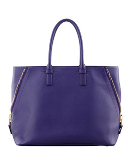 Tom Ford Jennifer Trap Calfskin Tote Bag