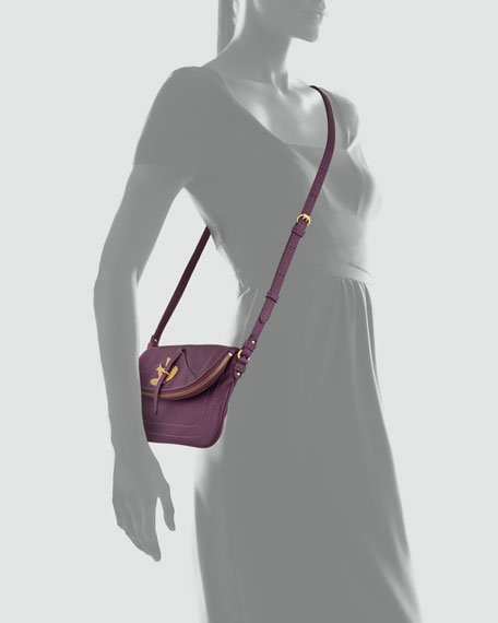 Petal to the Metal Percy Crossbody Bag, Purple