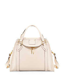 Marc Jacobs Wellington Classic Satchel, Milk
