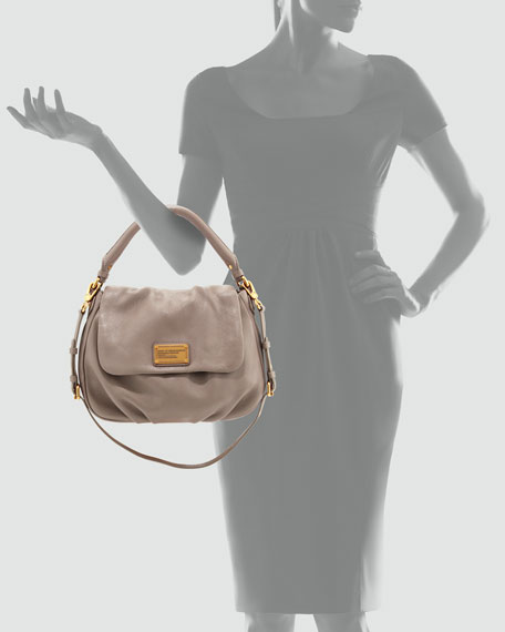 MARC by Marc Jacobs Classic Q Lil Ukita Satchel Bag, Taupe ca50f7444283