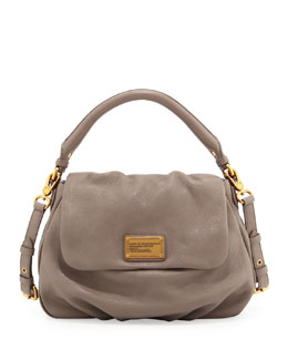 MARC by Marc Jacobs Classic Q Lil Ukita Satchel Bag, Taupe