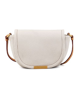 MARC by Marc Jacobs Softy Saddle Crossbody Bag, Cream