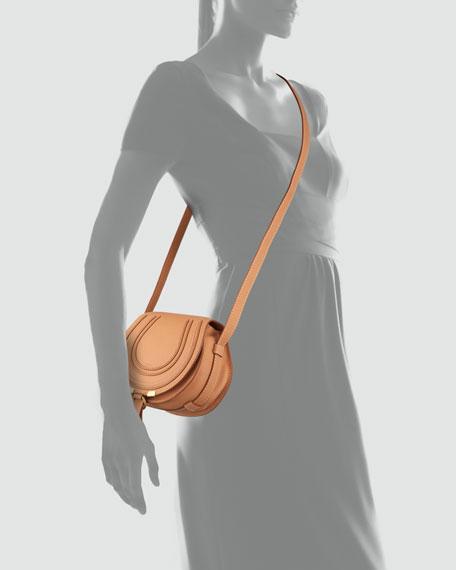 Marcie Small Satchel Bag, Rose Milk