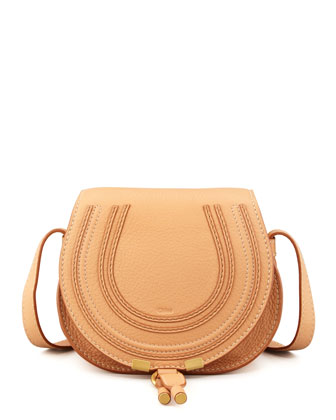 Marcie Small Satchel Bag, Rose Milk