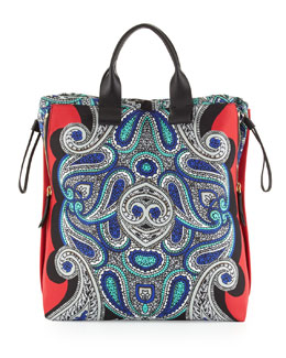 Lanvin Padam Paisley Shopper Bag, Multi