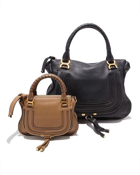 Marcie Mini Shoulder Bag, Nut