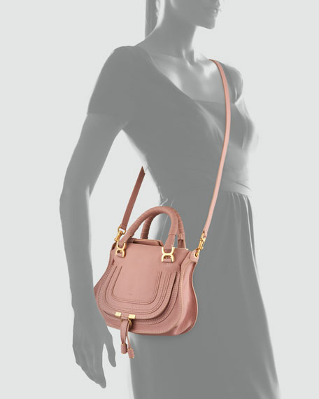 Marcie Mini Shoulder Bag, Pink