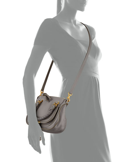 Marcie Mini Shoulder Bag, Gray