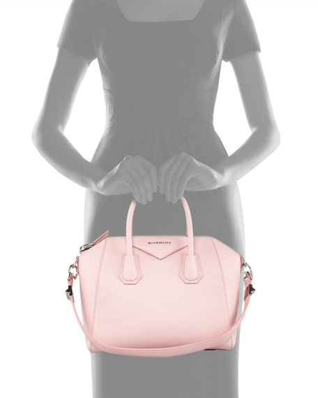 a7161c92c5 Givenchy Antigona Small Leather Satchel Bag