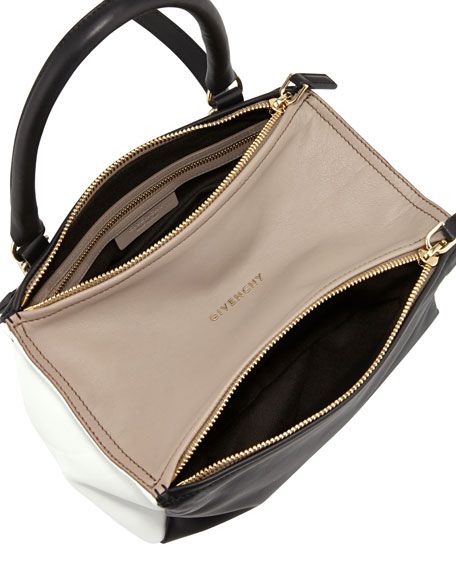 Pandora Small Leather Should Bag, Beige