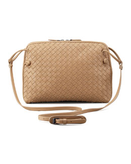 Bottega Veneta Veneta Small Crossbody Bag, Walnut