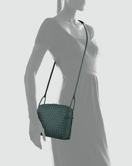 Veneta Small Messenger Bag, Mint Green