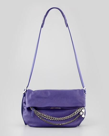 Biker Small Crossbody Bag, Purple