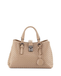Bottega Veneta Roma Leggero Small Tote Bag, Walnut