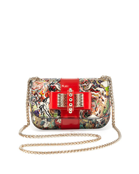 Sweet Charity Small Python Crossbody Bag, Multi