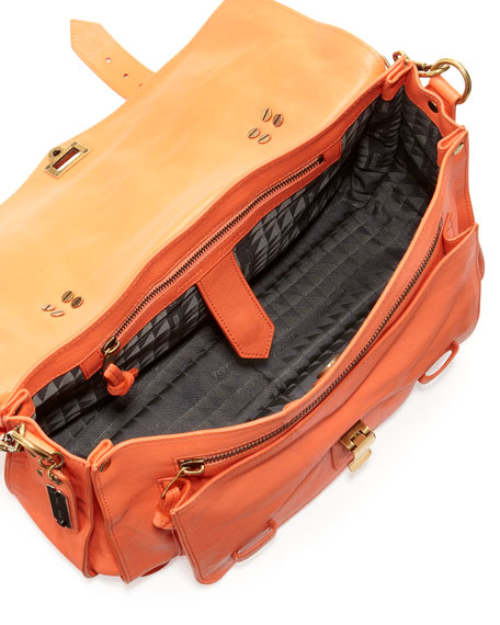 PS1 Medium Satchel Bag, Grapefruit