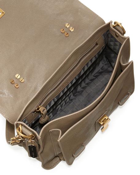 PS1 Mini Satchel Bag, Smoke