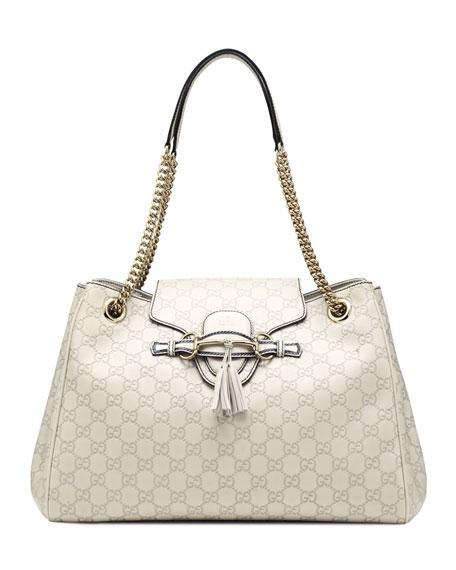 3d47443c0501 Gucci Emily Guccissima Leather Shoulder Bag