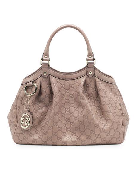 7ce5351154f Gucci Sukey Medium Guccissima Leather Tote