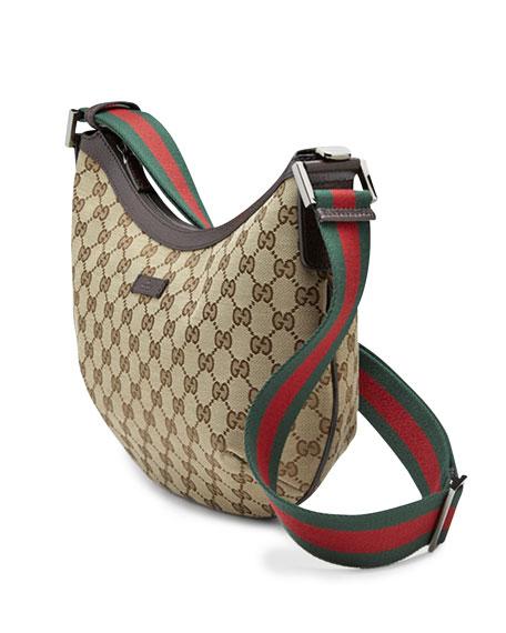 Original Medium Messenger Bag, Beige/Dark Brown
