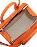 Seven Structured Satchel Bag, Tangerine