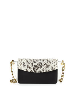 Reed Krakoff Ew Anarchy Anaconda Colorblock Shoulder Bag ag