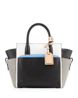 Reed Krakoff Atlantique Mini Colorblock Tote Bag