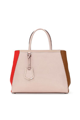 Fendi 2Jours Colorblock Tote Bag, Multi