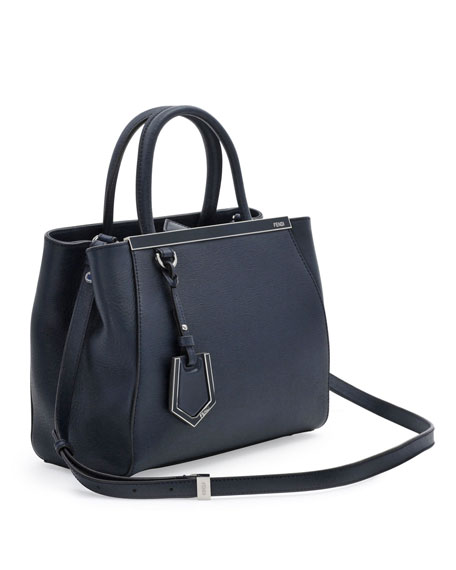 2Jours Mini Tote Bag, Navy