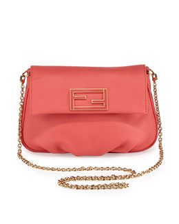 Fendi Fendista Pochette Crossbody Bag, Pink