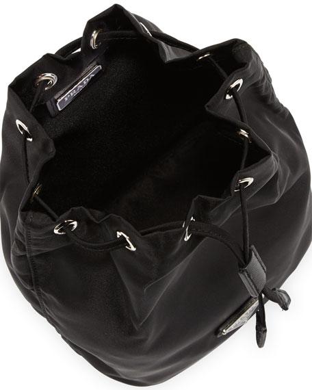 8421b123a7cd Prada Vela Drawstring Pouch, Black (Nero)