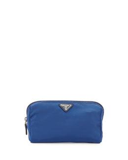 Vela Trapezoid Cosmetic Case, Blue (Bluette)