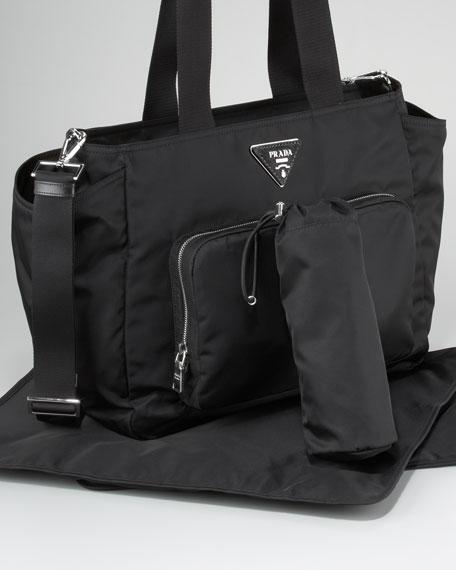 4e101c43b37b Prada Vela Baby Bag, Black