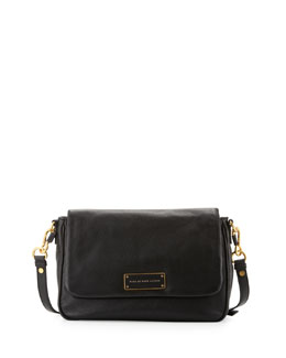 MARC by Marc Jacobs Too Hot to Handle Leather Crossbody Bag, Black
