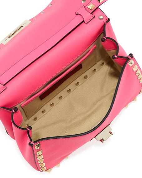Rockstud Mini Crossbody Bag, Pink