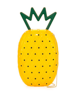 Charlotte Olympia Ana Pineapple Acrylic Shoulder Bag
