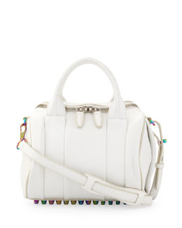 Alexander Wang Rockie Small Crossbody Satchel, White