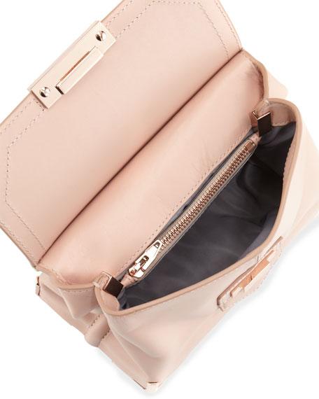 Marion Prisma Skeletal Shoulder Bag, Rose