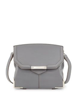 Alexander Wang Marion Prisma Skeletal Shoulder Bag, Gray