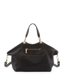 Elizabeth and James Cynnie Leather Satchel Bag, Black