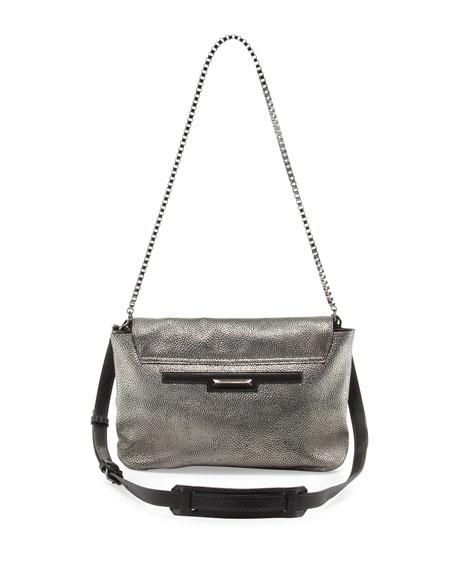 Cynnie Razza Crossbody Bag, Gunmetal