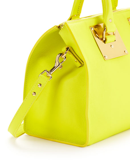 Mini Zip-Top Bowling Bag, Chartreuse