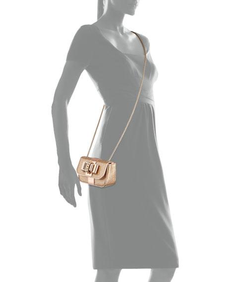 Sweety Charity Spike Glitter Crossbody Bag